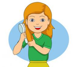 Hair clipart brush tooth