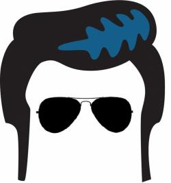 Hair clipart elvis hair