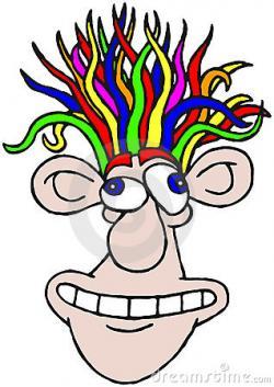 Hair clipart funny hair