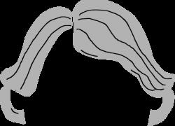 White Hair clipart Grey Hair Clipart