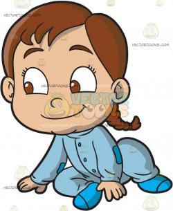 Braid clipart child smile