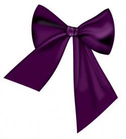 Mauve clipart hair bow