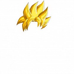 Hair clipart super saiyan