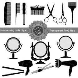 Hair clipart utensil
