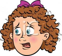 Curl clipart curly hair
