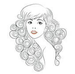 Hair clipart windy
