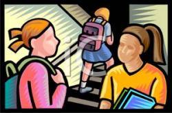 Hallway clipart cartoon