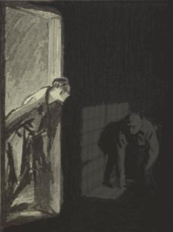 Hallway clipart creepy