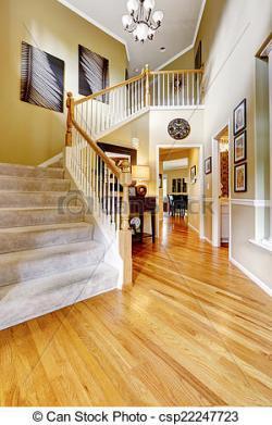 Hallway clipart luxury home