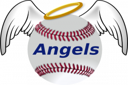 Halo clipart angels baseball