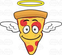 Smiley clipart pizza