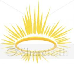 Halo clipart golden
