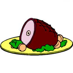 Ham clipart ham dinner