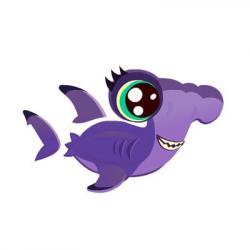 Hammerhead clipart aquarium