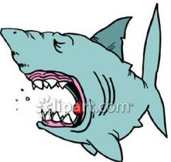 Sharkwhale clipart mouth open