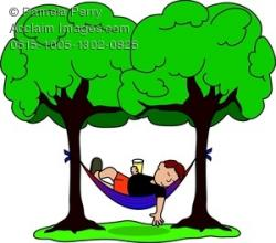 Resting clipart retired man