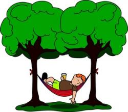 Relax clipart hammock