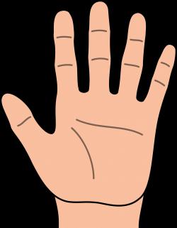 Healing clipart left hand