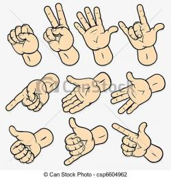 Hand Gesture clipart