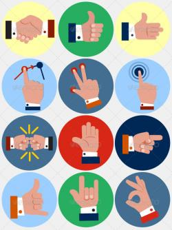 Hand Gesture clipart business communication