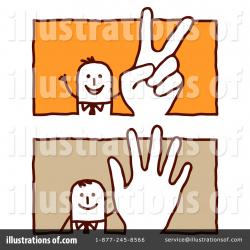 Hand Gesture clipart closed hand