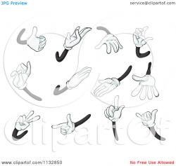 Hand Gesture clipart comic