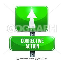Hand Gesture clipart corrective action