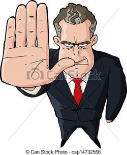 Hand Gesture clipart halt