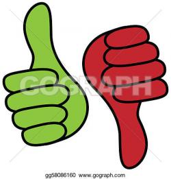 Hand Gesture clipart positive