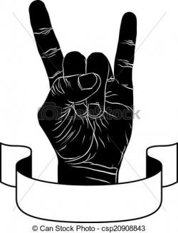Hard Rock clipart rock and roll
