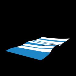 Towel clipart cartoon