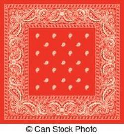 Handkerchief clipart red bandana