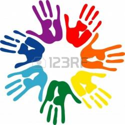 Handprint clipart hand impression