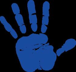 Handprint clipart hand palm