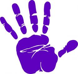 Handprint clipart hand touch