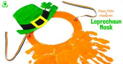 Handprint clipart leprechaun