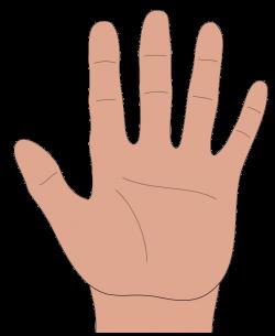 Healing clipart hand palm