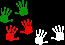 Handprint clipart palestine