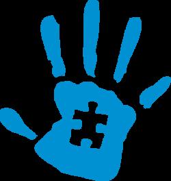 Handprint clipart supportive