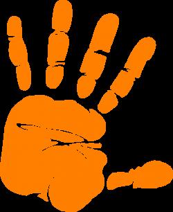 Handprint clipart toddler