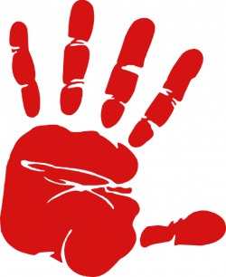 Handprint clipart transparent