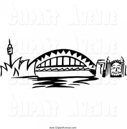 Bridge clipart harbour bridge