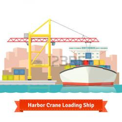 Pier clipart ship port