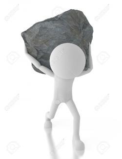 Boulder clipart burden