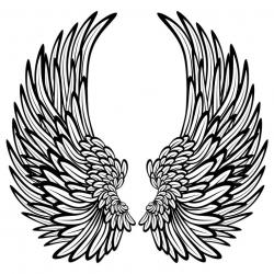 Hard Rock clipart feather wing