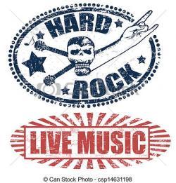 Hard Rock clipart live music