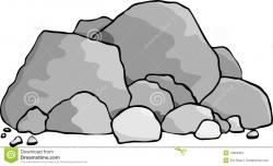 Pebbles clipart rock