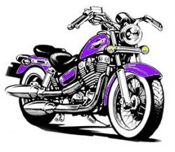 Motorcycle clipart harley davidson