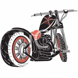 Harley Davidson clipart cycle