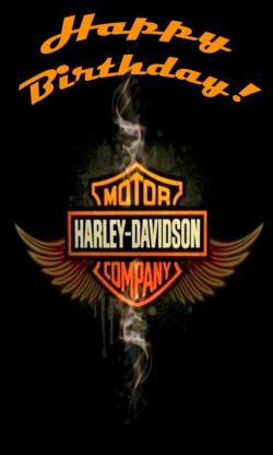 Harley Davidson clipart happy birthday